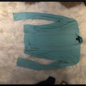 Ralph Lauren light blue cami & cardigan set